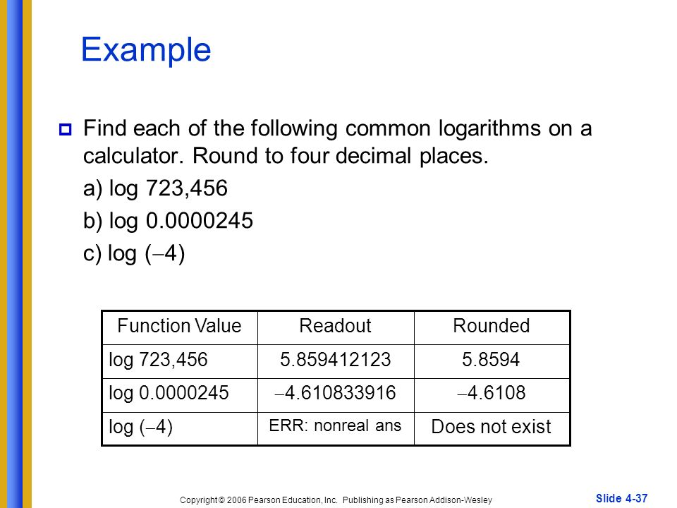 how to change the base of log on a calculator