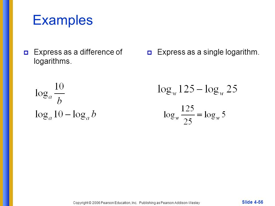 Logarithm and Exponential Questions with Answers and Solutions - Grade 12