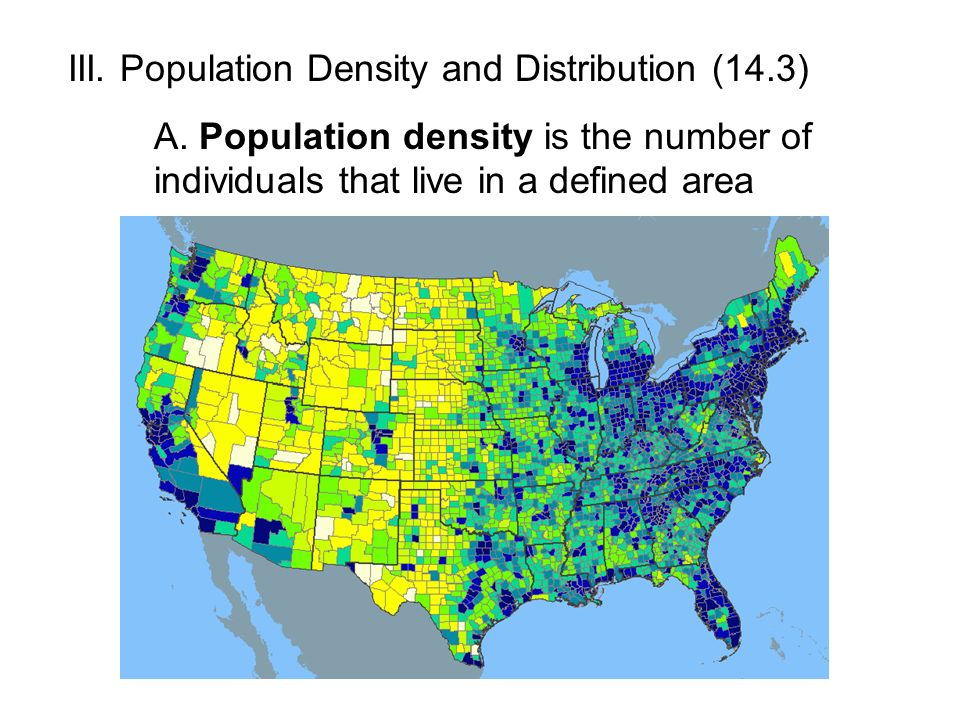 population density and distribution History you are here:  population distribution over time view larger [92mb pdf] distribution of the constitutional population in 1870  superintendent of the census francis walker produced, in 1874, a map that showed the distribution and density of people across the continental united states similar maps were produced in the 1880 and.