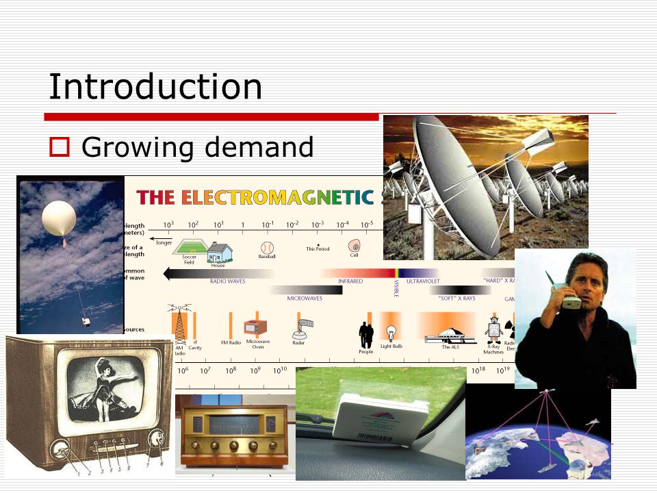 Introduction Growing demand