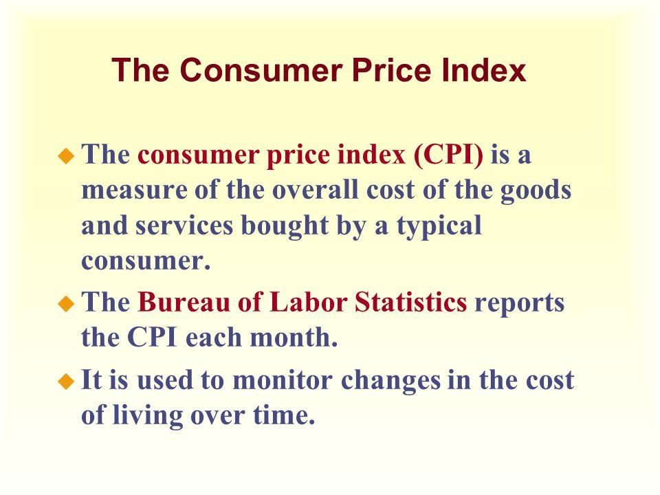 Measuring the cost of living ppt download - Bureau of labor statistics consumer price index ...