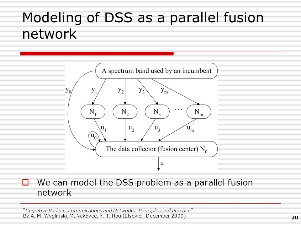 Modeling of DSS as a parallel fusion network