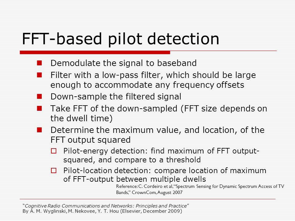 FFT-based pilot detection