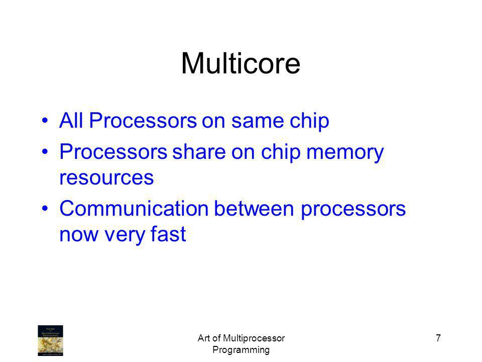 Art of Multiprocessor Programming