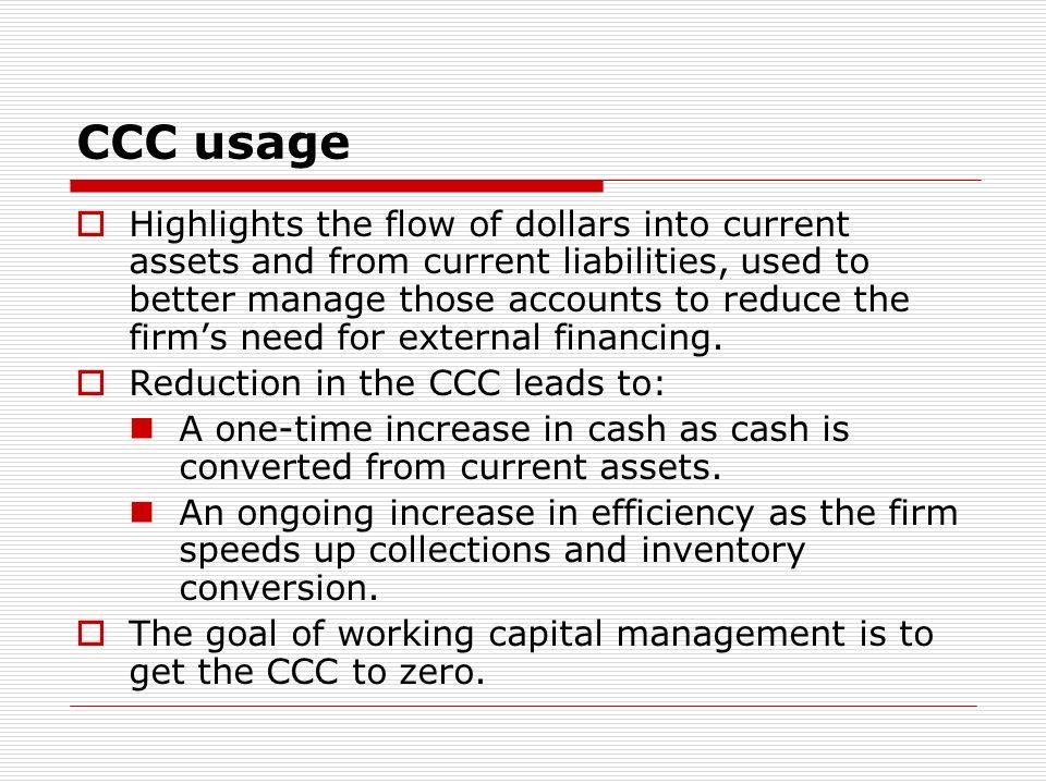 CCC usage