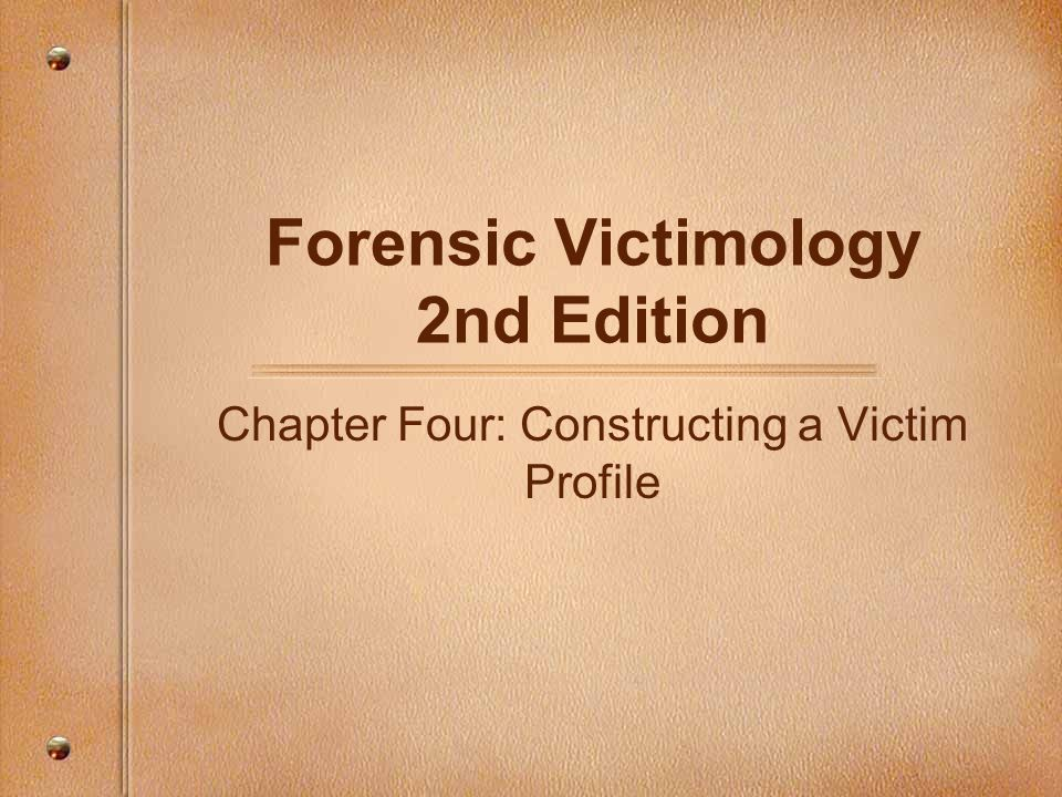 Forensic Victimology 2nd Edition