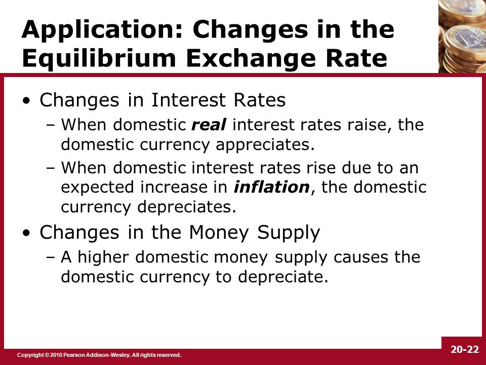 the real exchange rate misalignment application Exchange rate misalignment while disregarding that of exchange rate volatility in magnitude, exchange rate misalignments result in trade diversion quantifiable in about one per cent of world.