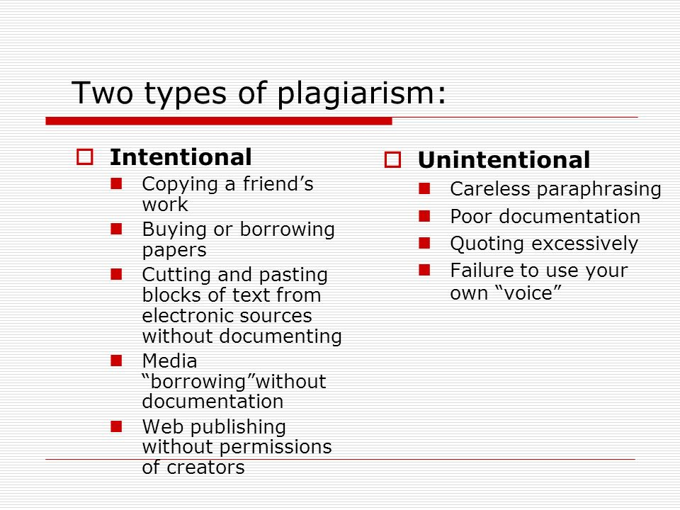 kinds of plagiarism found in essays The plague of plagiarism: academic plagiarism the following forms of plagiarism were all found in various academic and other types of writing and to ask what.