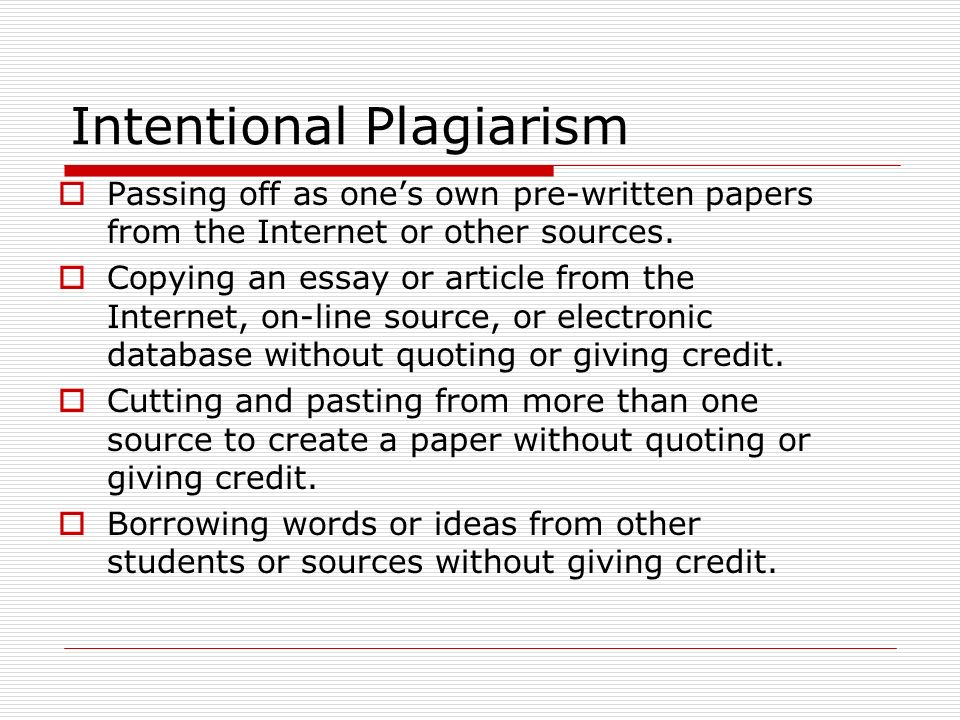 student essays on plagiarism Avoiding plagiarism in essays, reports and dissertations students will sometimes be asked to write a report, essay or dissertation as part of.