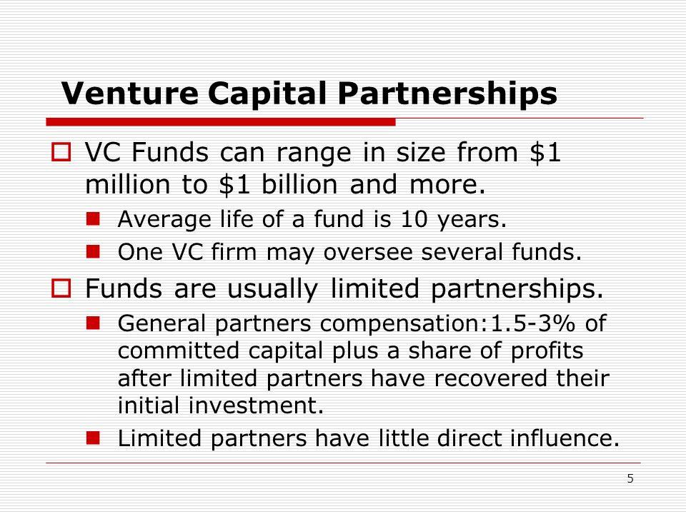 Venture Capital Partnerships