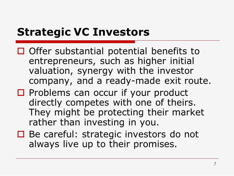 Strategic VC Investors