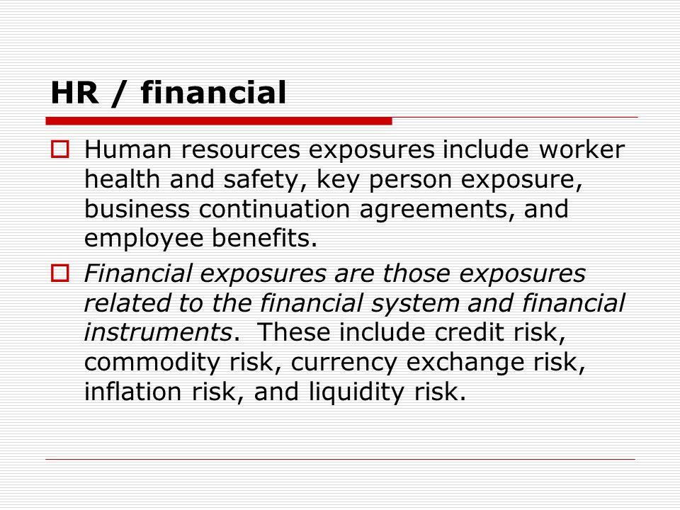 HR / financial
