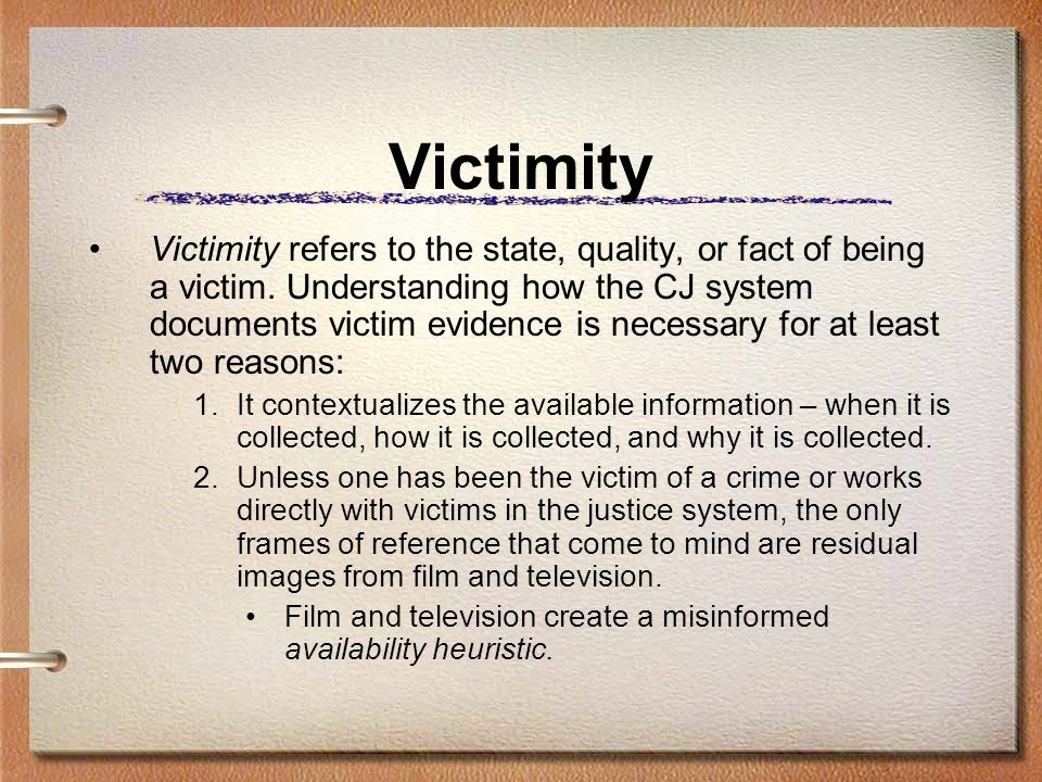 Victimity