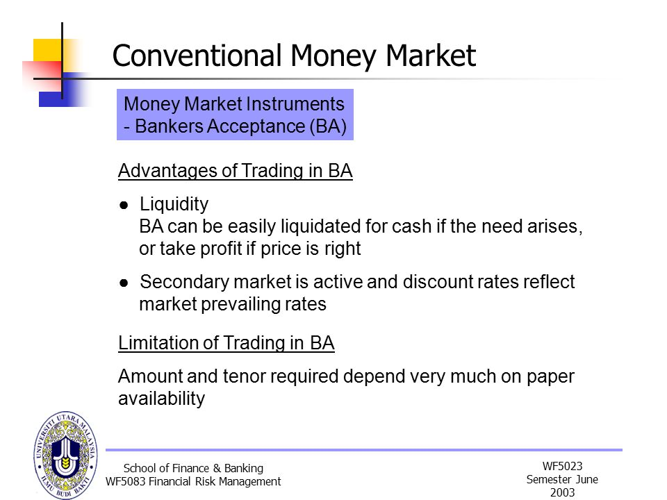 money market paper Following definitions will help us to understand the concept of money market according to crowther, the money market is a name given to the various firms and institutions that deal in the various grades of near money according to the rbi, the money market is the centre for dealing mainly of.