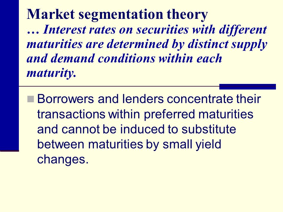 a market segmentation theory Culture in the labor market: segmentation theory and perspectives of place harald bauder department of geography, university of british columbia, vancouver, british.