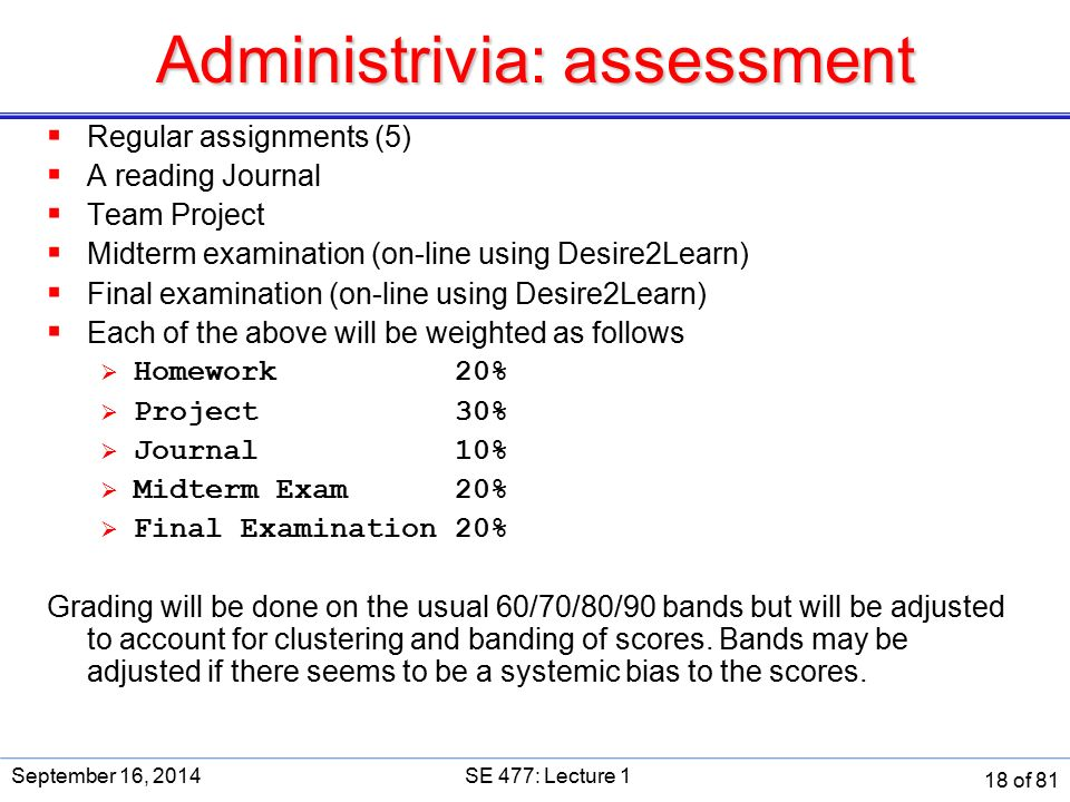 Are you in the right course ppt download 18 administrivia assessment fandeluxe Image collections