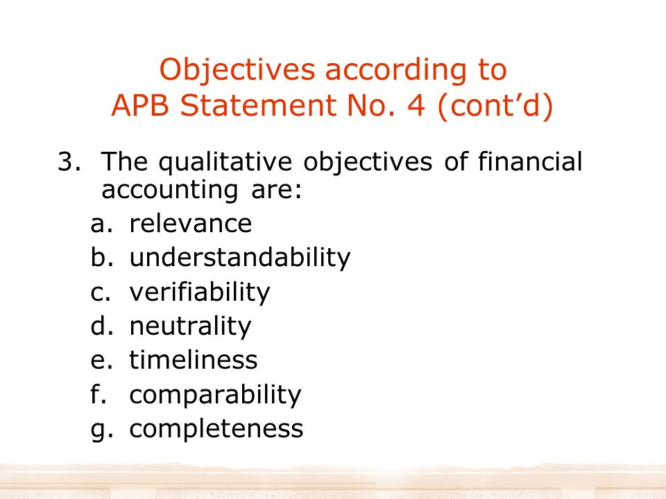 objectives of financial accounting pdf