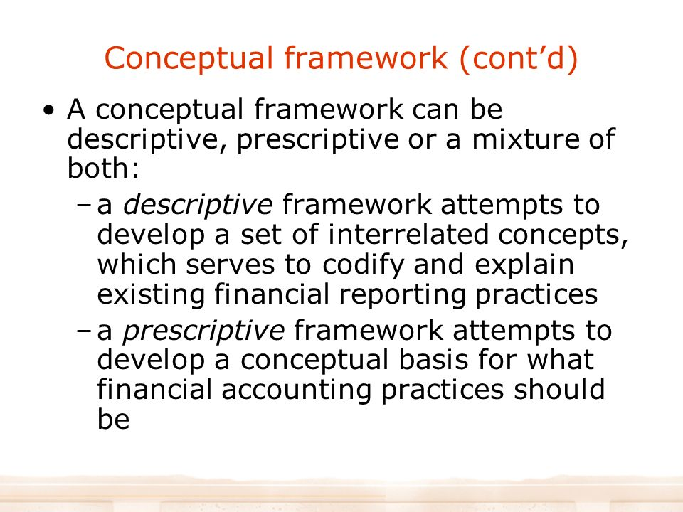 how to develop a conceptual framework