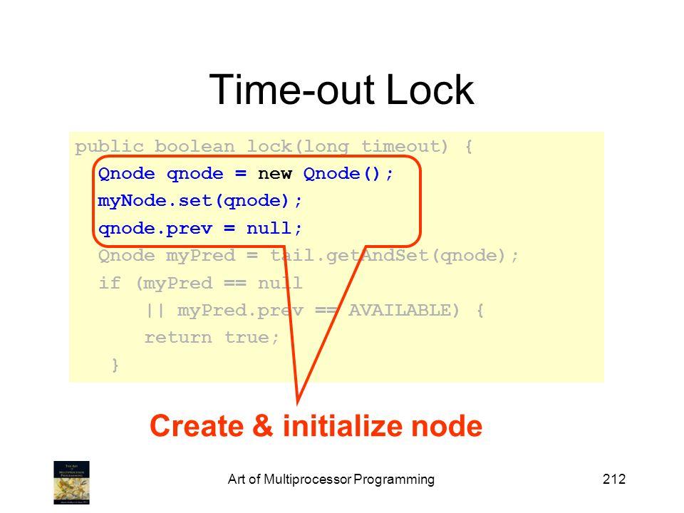 Create & initialize node