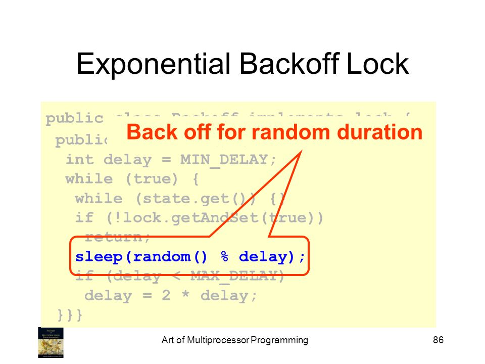 Exponential Backoff Lock