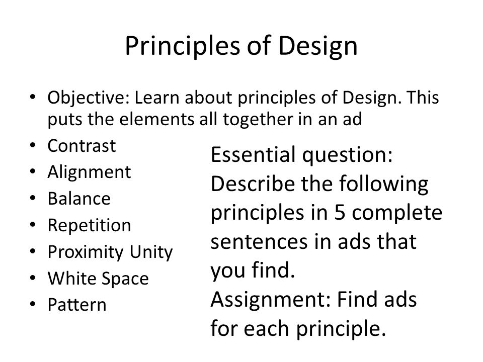 principles of design contrast pdf