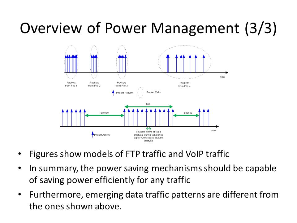 Overview of Power Management (3/3)