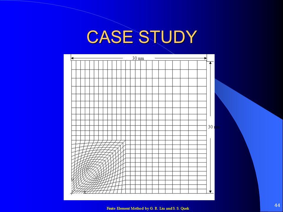 CASE STUDY 30 nm 30 nm