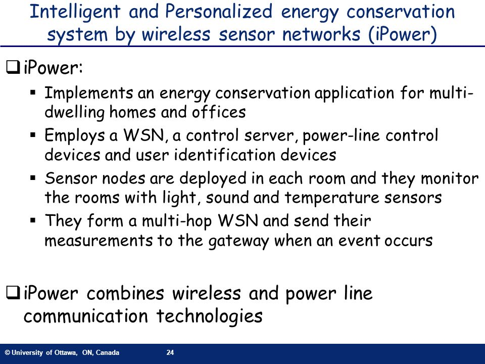 iPower combines wireless and power line communication technologies