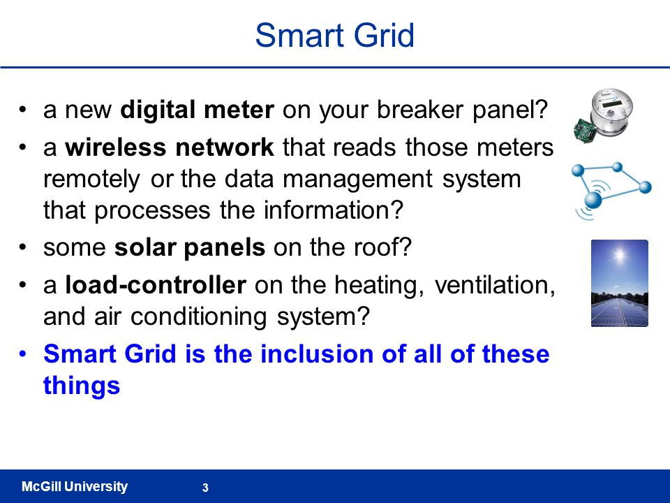 Smart Grid a new digital meter on your breaker panel