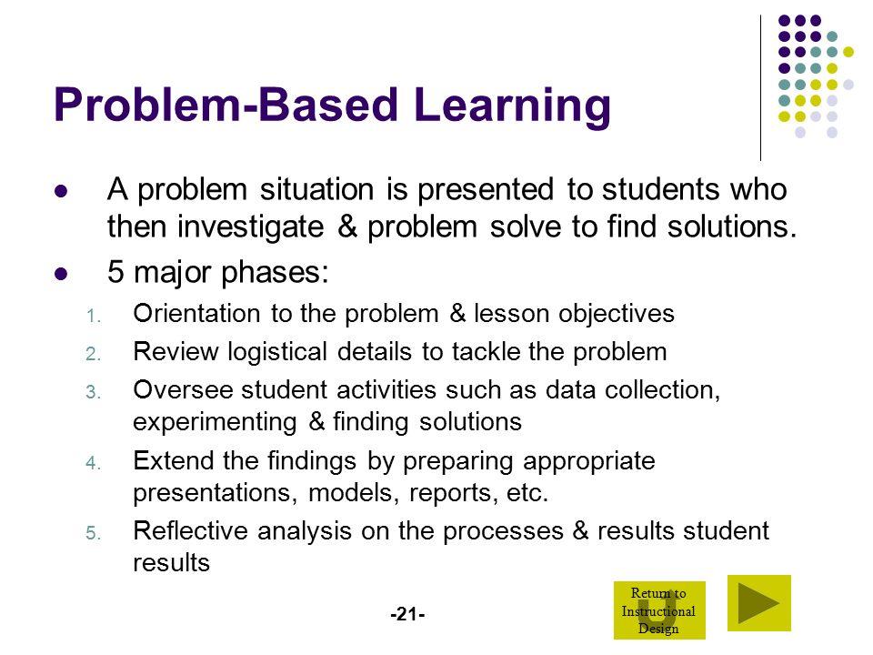 problem investigation project