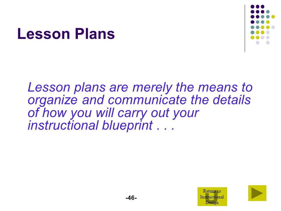 Design your instructional blueprint ppt video online for Sdaie lesson plan template