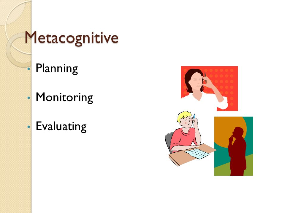 Metacognitive Planning Monitoring Evaluating CALLA p. 62