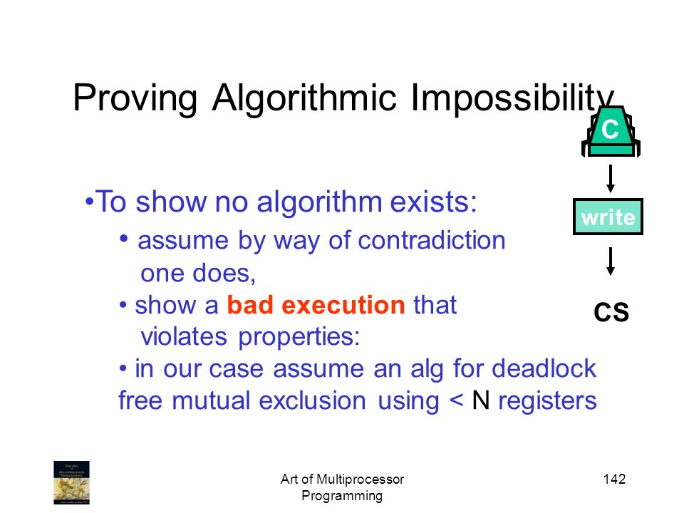 Proving Algorithmic Impossibility