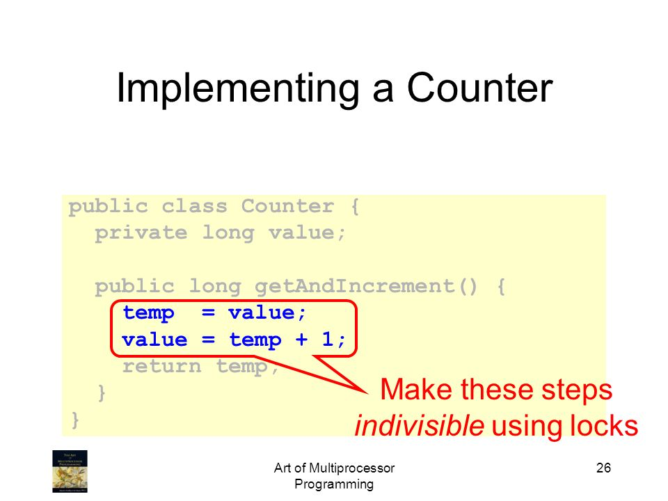 Implementing a Counter