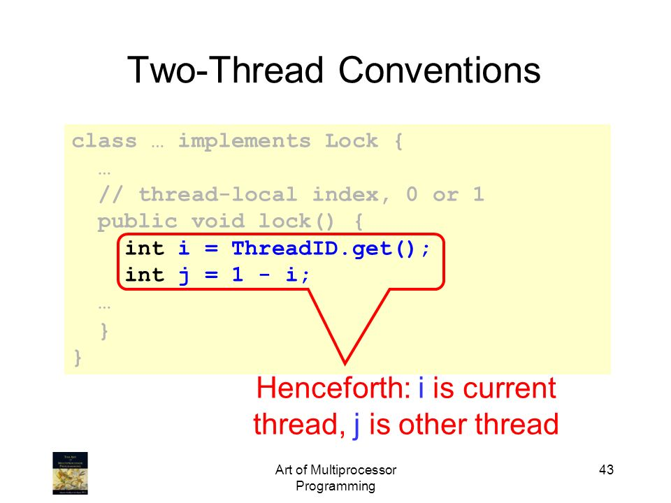 Two-Thread Conventions