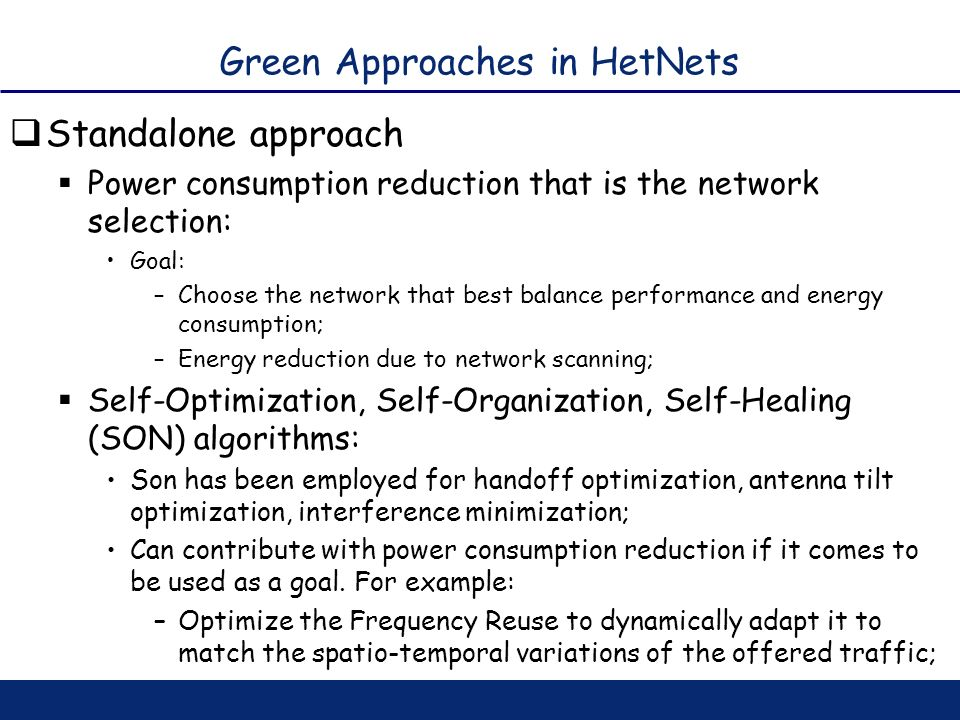 Green Approaches in HetNets