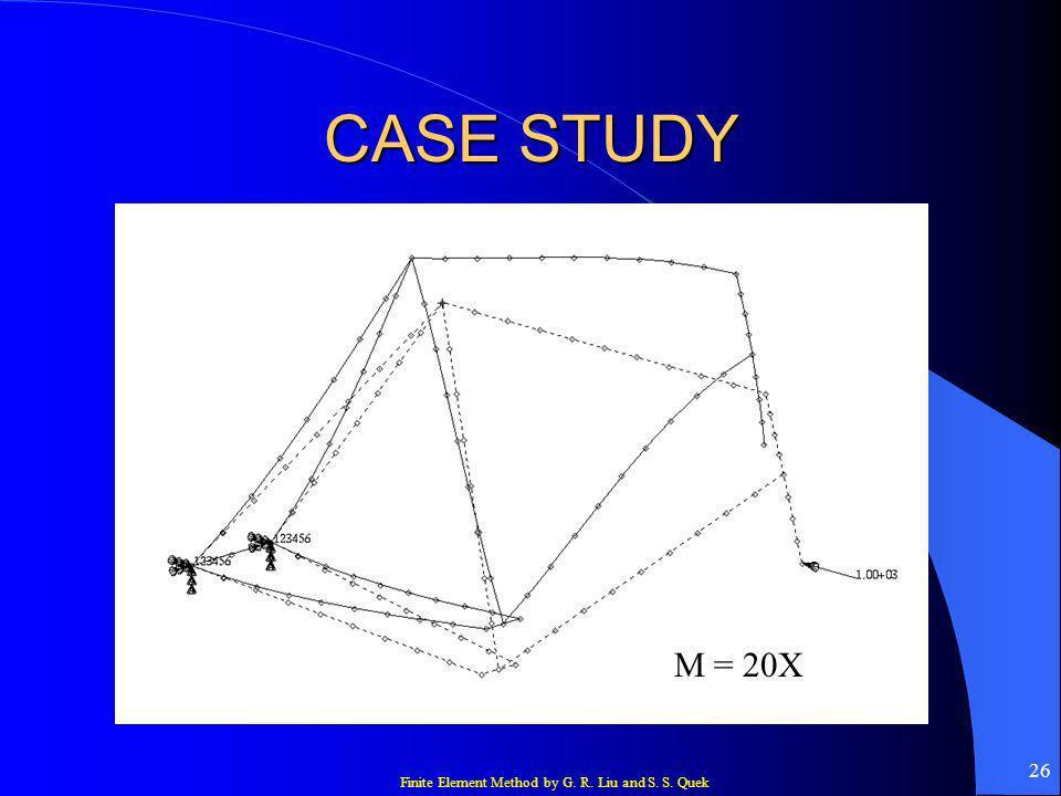 CASE STUDY M = 20X
