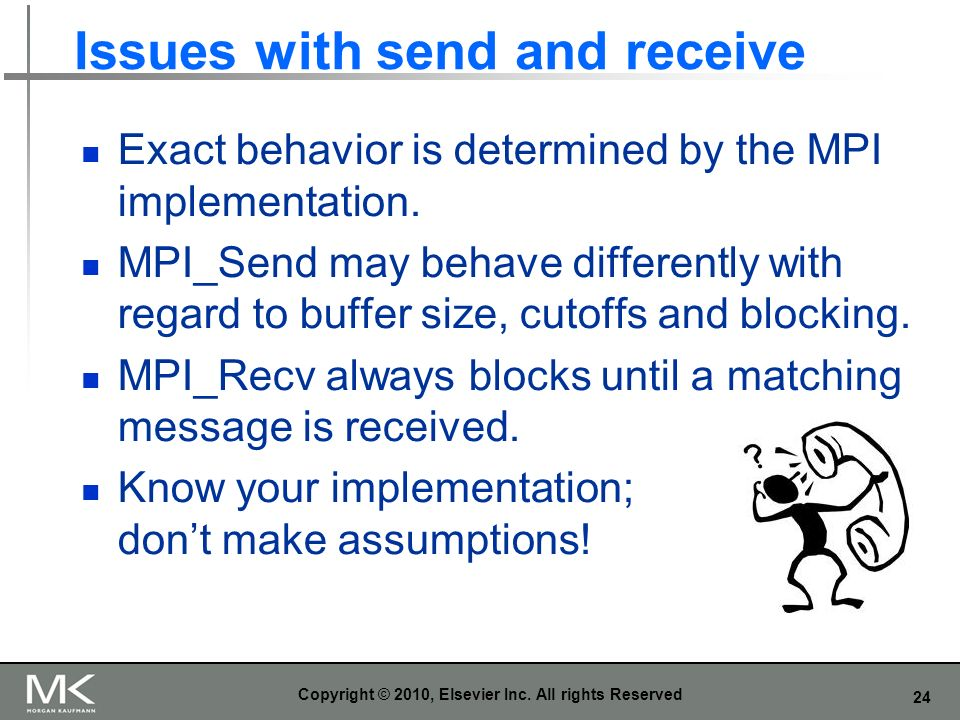 Issues with send and receive