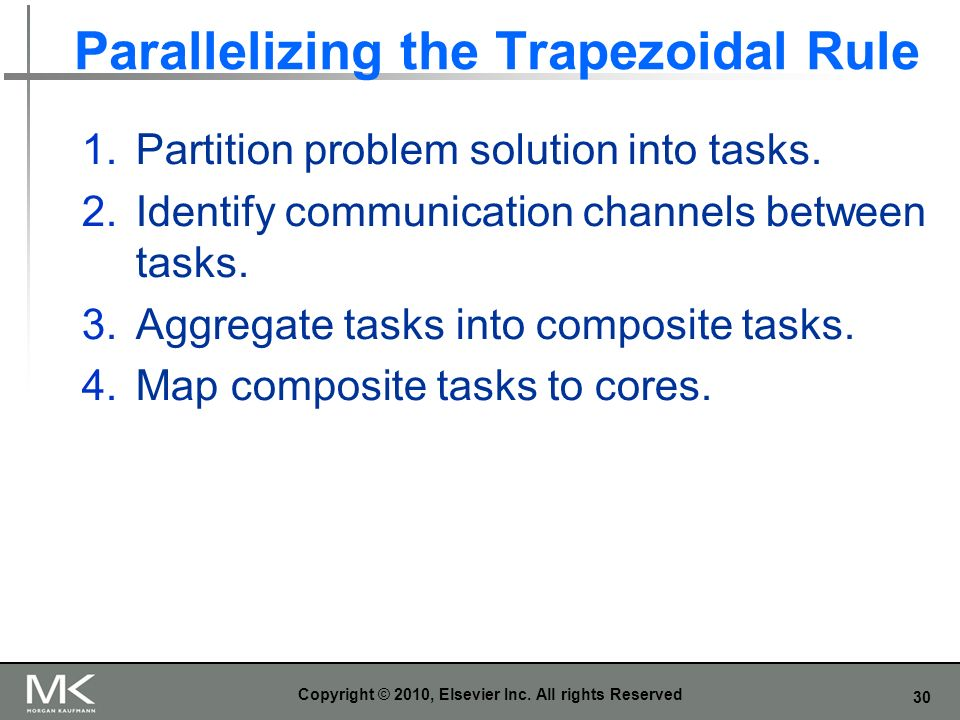 Parallelizing the Trapezoidal Rule