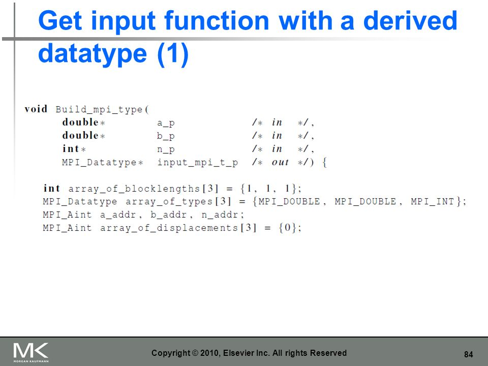 Get input function with a derived datatype (1)