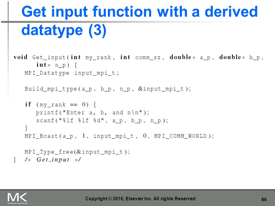 Get input function with a derived datatype (3)