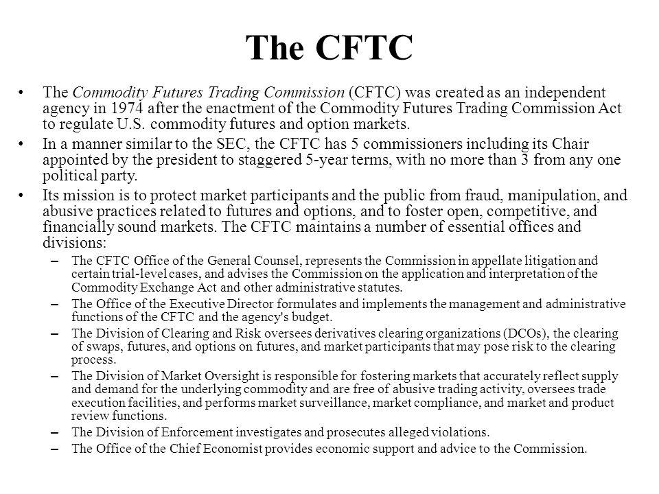The CFTC