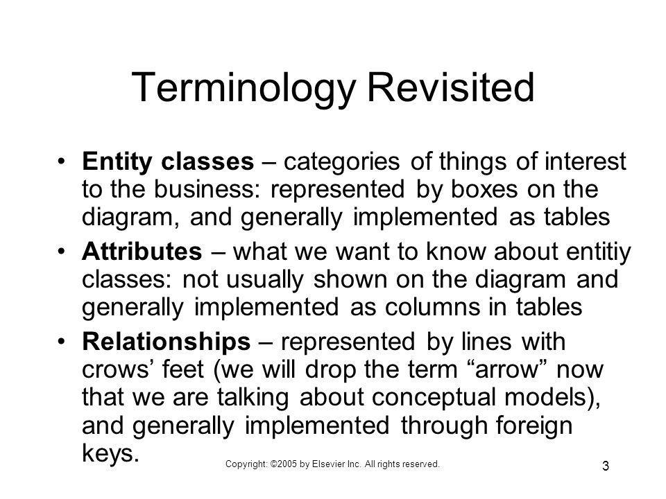 Terminology Revisited