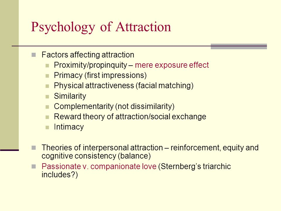 the factors that affect long interpersonal relationships Social psychology student commitment reflects the intention and desire to maintain a relationship for the long three factors are involved that create.