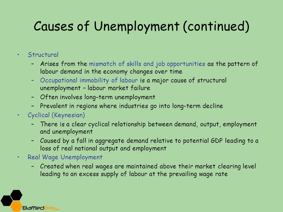 the causes and consequences of unemployment essay Read this essay on causes and consequences of unemployment in spain come browse our large digital warehouse of free sample essays get the knowledge you need in order to pass your classes and more.