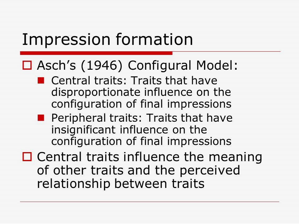impression formation