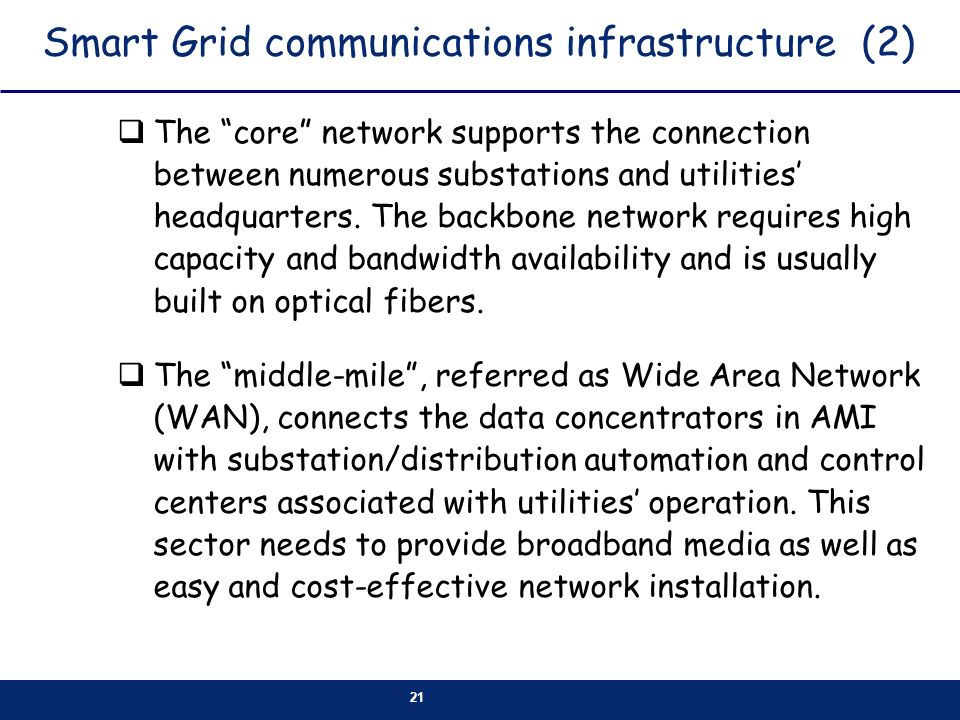 Smart Grid communications infrastructure (2)