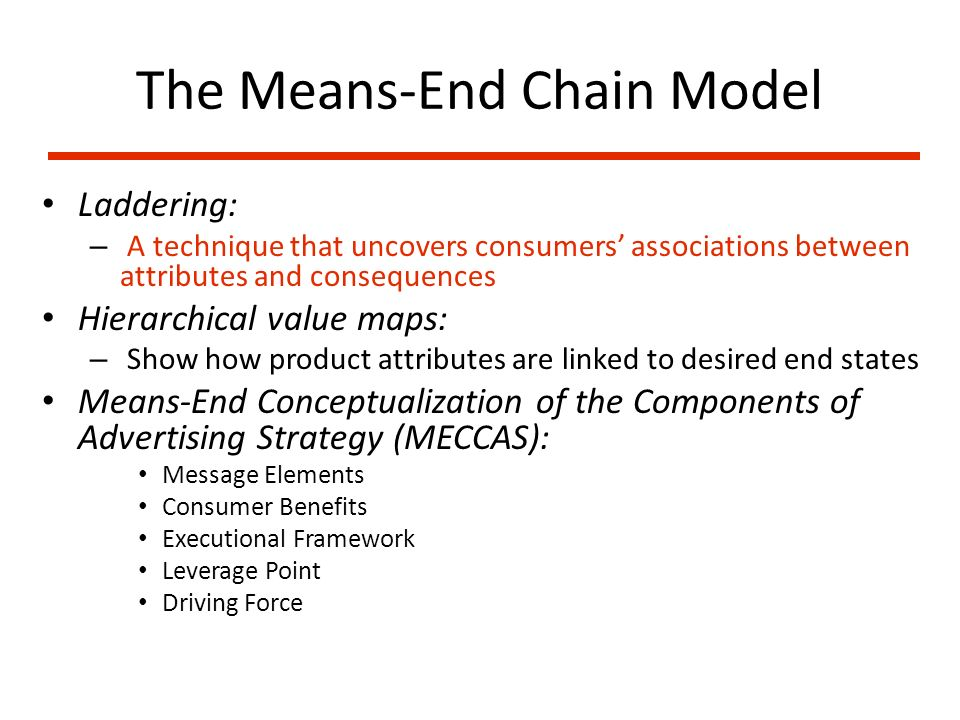 meccas means end chain pdf