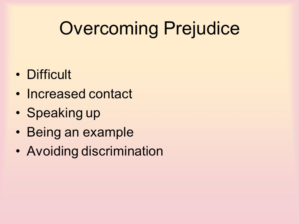 causes and effects of being prejudice Prejudice quotes from brainyquote, an extensive collection of quotations by famous authors, celebrities, and newsmakers.