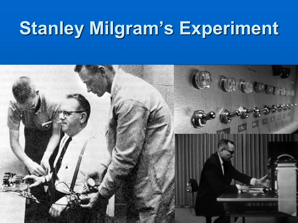 milgram s experiment More shocking results: new research replicates milgram's findings 2009, vol 40, no 3 print version: page 13.